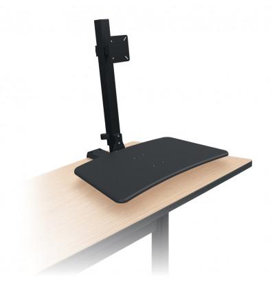 Balt Up Rite 91113 Single Monitor Rear Desk Sit Stand