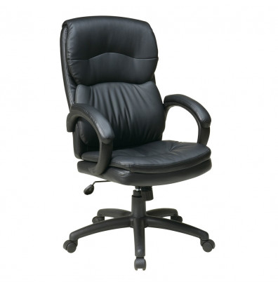 Office Star Eco-Leather High-Back Executive Office Chair (Model EC9230-EC3)