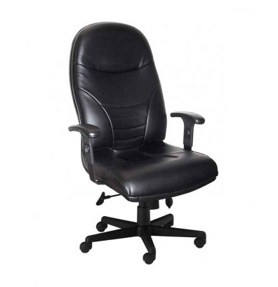 Mayline Comfort 9413AGL Genuine Leather High-Back Executive Office Chair