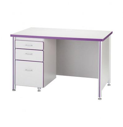 """Jonti-Craft Berries 48"""" W Teachers Desk - Shown in Purple (Pedestal not included)"""