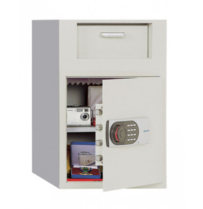 Phoenix 991TE 2.0 Cubic Foot Front Loading Electronic Lock Depository Safe