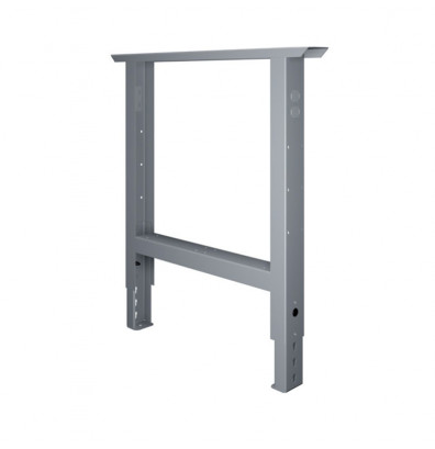 "Tennsco AL-3236 Height Adjustable Leg for 36"" D Workbench (Shown in Medium Grey)"