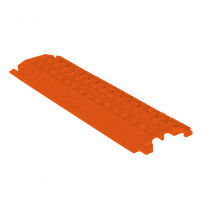 """Checkers 2-Channel 1"""" Fastlane Drop Over Cable Protector (Shown in Orange)"""
