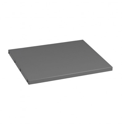 "Tennsco MBS-1524 15"" W Extra Shelf for Left Side of Cabinet (Shown in Medium Grey)"