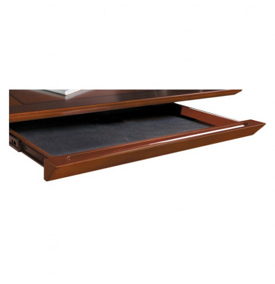 Mayline Sorrento SCD Center Drawer for Desks and Credenzas (Shown in Bourbon Cherry)