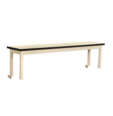 "Tennsco TWI-60-N Instrument Shelf Standard Work Surface (60"" W x 15"" D x 18"" H) - Shown in Sand"