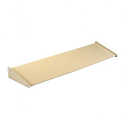 "Tennsco TWSS-6015A Sloped Shelf (60"" W x 15"" D x 3/4"" H) - Shown in Sand"