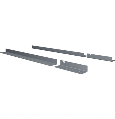 Tennsco WBLB-30 Mounting Angle Set for Electronic Workbenches (Shown in Medium Grey)