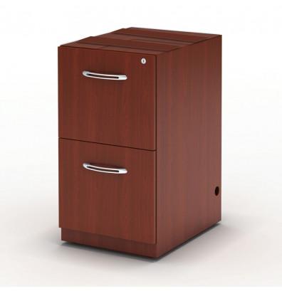 Mayline Aberdeen AFF20 2-Drawer File/File Credenza Pedestal Cabinet (Shown in Cherry)