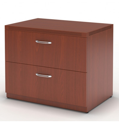 "Mayline Aberdeen AFLF30 30"" 2-Drawer Lateral File (Shown in Cherry)"