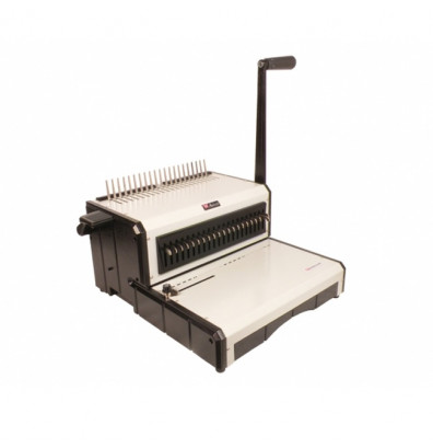 Akiles AlphaBind-CM Manual Comb Punch & Electric Binding Machine