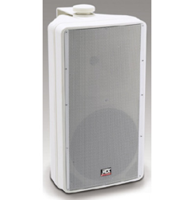"MTX Audio AW82-WH 2-Way All Weather Speaker with 8"" Woofer, White"