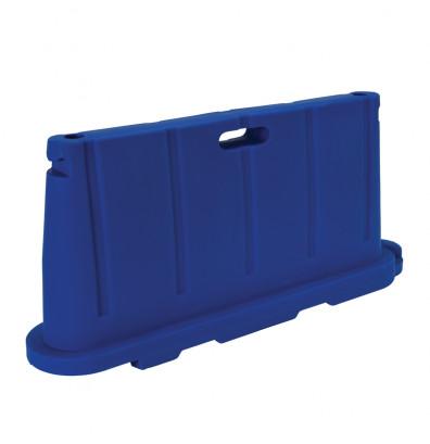 """Vestil 76.5"""" L x 36"""" H Jumbo Poly Barricade (in blue)"""