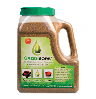 "GreenSorb Sorbent 4 lbs. Eco-Friendly Sorbent, 4.25"" W x 6.25"" L x 8.75"" H"