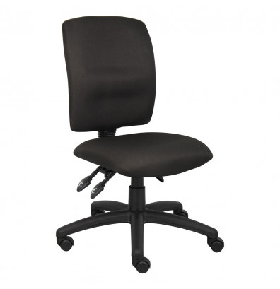 Boss B3035 Multifunction Fabric Mid-Back Task Chair