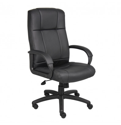 Boss B7901 CaressoftPlus High-Back Executive Office Chair