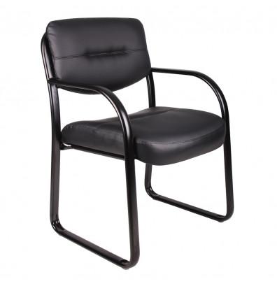 Boss B9529 LeatherPlus Low-Back Guest Chair