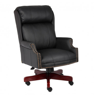 Boss B980-CP Traditional CaressoftPlus High-Back Executive Office Chair