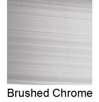 Sample of Brushed Chrome
