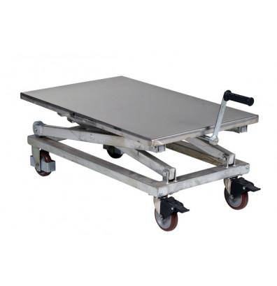 Vestil Mechanical Partially Stainless Steel Scissor Cart