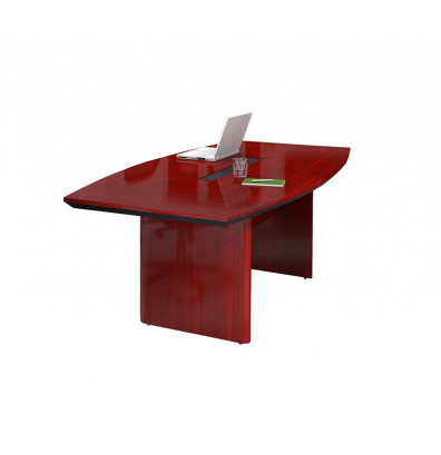 Mayline Corsica CTC Ft BoatShaped Conference Table - T shaped conference table