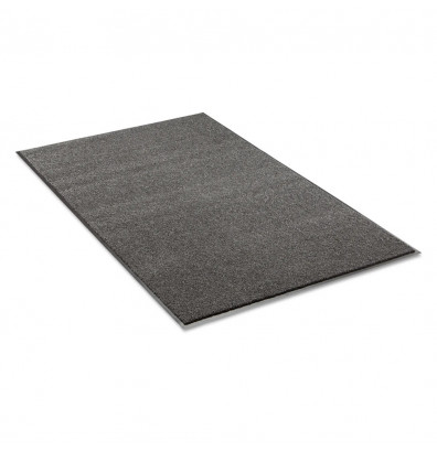 Crown Rely-On 3' x 10' Vinyl Back Polypropylene Indoor Wiper Floor Mat, Charcoal