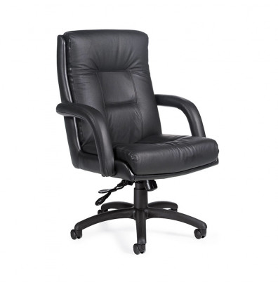 Global Arturo 3992 High-Back Bonded Leather Office Chair