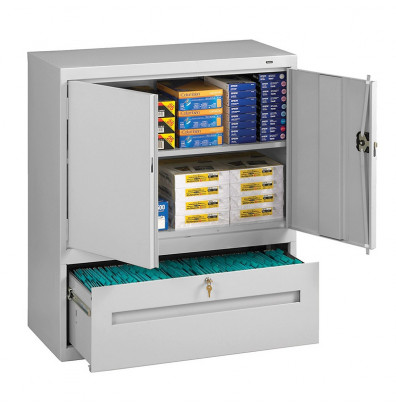 Tennsco 36  W x 18  D x 42  H Storage Cabinet with Lateral Drawer Assembled  sc 1 st  DigitalBuyer.com & Tennsco 36