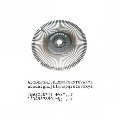 Nakajima NAKE032 Prestige Pica 10 Printwheel