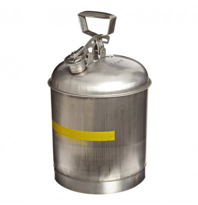 Eagle Stainless Steel 5 Gallon Laboratory Safety Can