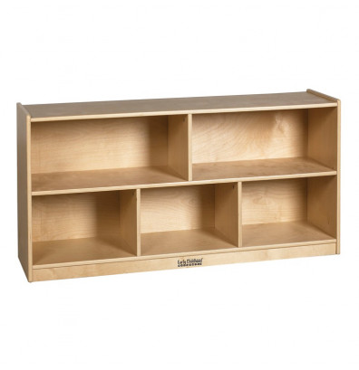 "ECR4Kids Birch 5-Section 24"" H Classroom Storage Cabinet"