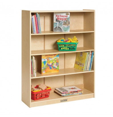 ECR4Kids 48 H Birch Classroom Bookshelf
