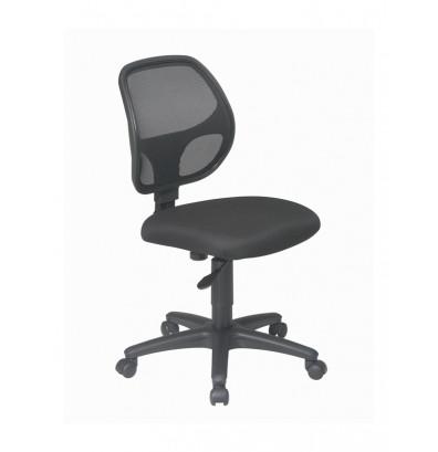 Office Star Mesh-Back Fabric Mid-Back Task Chair (Model EM2910)
