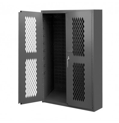 Durham Steel 16-Gauge Ventilated Storage Cabinet