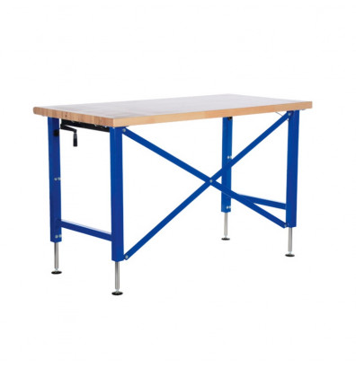 "Vestil EWB-7236 36"" Wide Manual Adjustable Ergonomic Workbench"