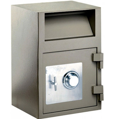 FireKing FB2114-RC Gary Dial Combination Front Pull 1.6 cu. ft. Depository Safe