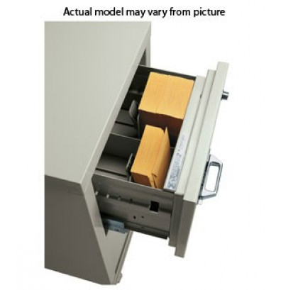"FireKing 2-Section Insert for 5"" H x 9-3/4"" W Cards for Card/Check Files"