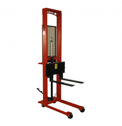 Wesco Standard 1000 lb Load Manual Hydraulic Fork Stackers