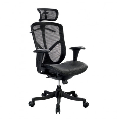 Eurotech Fuzion Basic FUZ6B-HI Mesh High-Back Executive Office Chair