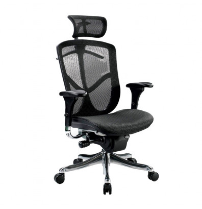 Eurotech Fuzion Luxury FUZ9LX-HI Mesh High-Back Executive Office Chair