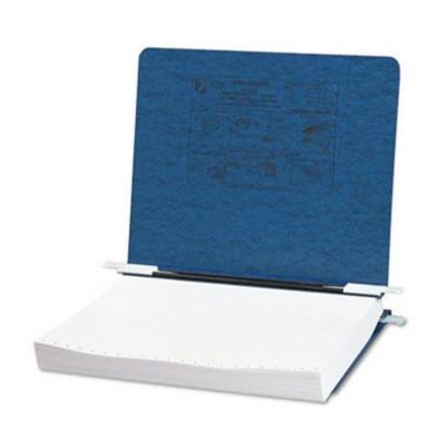 """Acco 11"""" x 8-1/2"""" Unburst Sheet Pressboard Hanging Data Binder, Dark Blue"""