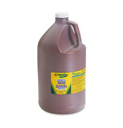 Crayola 1-Gallon Washable Paint Bottle, Brown