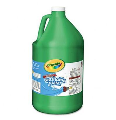 Crayola 1-Gallon Washable Paint Bottle, Green