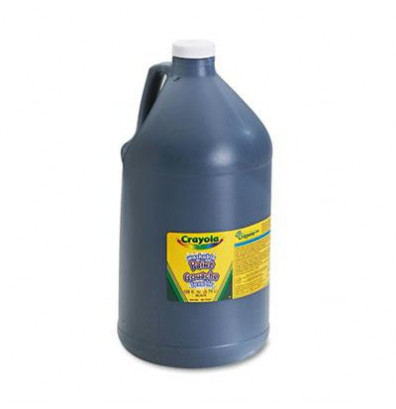 Crayola 1-Gallon Washable Paint Bottle, Black