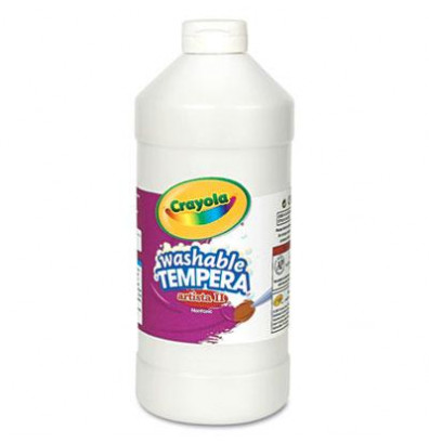 Crayola Artista II 32 oz Washable Tempera Paint, White