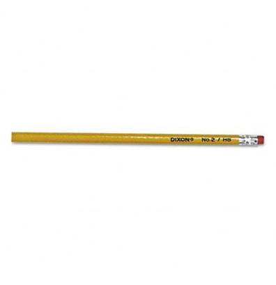 Dixon Ticonderoga #2 Yellow Woodcase Pencils, 144-Pack