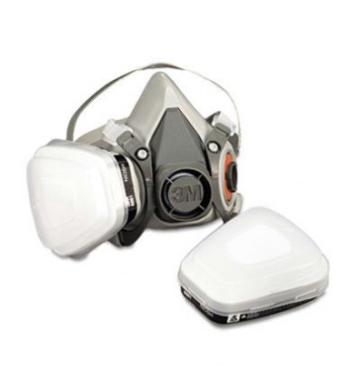 3M Half Facepiece Paint Spray & Pesticide Respirator, Medium
