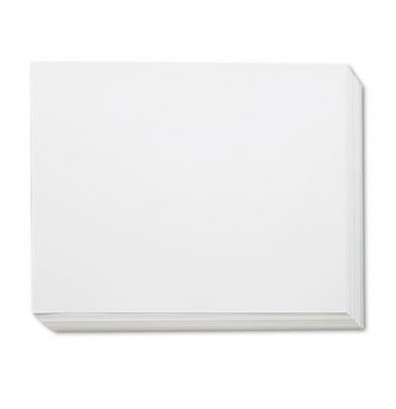 "Pacon 28"" x 22"" 100-Pack White Four-Ply Poster Boards"