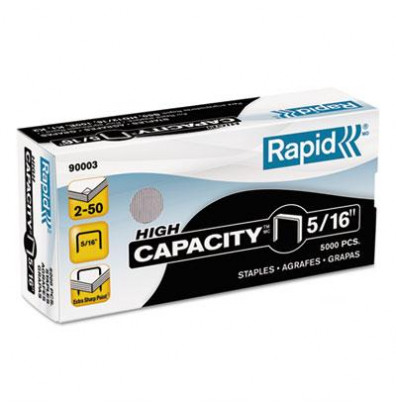 Rapid 50 sheet capacity staples for s50 5 16 leg 5000 box for Staples color printing cost per page