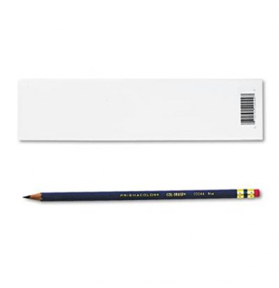 Prismacolor Col-Erase 0.7 mm Blue Woodcase Pencils, 12-Pack